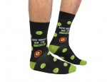 Cockney Spaniel Ban The Brussels Novelty Socks