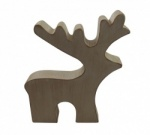 Shoeless Joe Christmas -  Rustic Reindeer Decoration