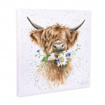 Wrendale Designs Daisy Cow Canvas