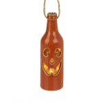 Heaven Sends Halloween Ceramic Led Light Up Bottle