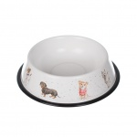 Wrendale Designs Illustrated Tin Dog Bowl