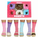 United Oddsocks Donuts Design - Ladies Novelty Socks