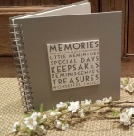 East of India Vintage Style Memories Book