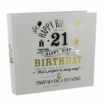 Signography 21st Birthday Gift Photo Album