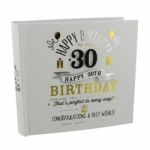 Signography 30th Birthday Gift Photo Album