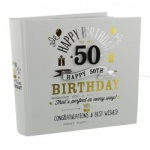 Signography 50th Birthday Gift Photo Album