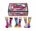 United Oddsocks Foot Kandy - Ladies Novelty Odd Socks