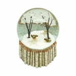 Heaven Sends Birds in Trees Christmas Snowglobe