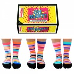 United Oddsocks Oh Mary Design - Ladies Novelty Socks