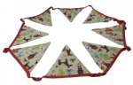 Gisela Graham Cowboy and Indian Fabric Bedroom Bunting