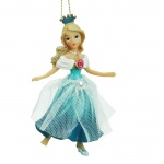 Gisela Graham Cinderella Christmas Tree Decoration