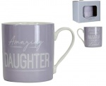 Gisela Graham Amazing Daughter Mug