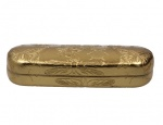 Gisela Graham Gold Insects Hard Glasses Case