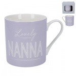 Gisela Graham Lovely Nanna Ceramic Mug