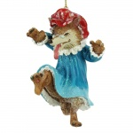 Gisela Graham Grandma Wolf Christmas Tree Decoration