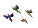 Giftware Trading Clip on Humming Bird Easter Decorations