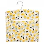 Gisela Graham Peg Bag - Bee And Buttercup Design