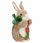 Gisela Graham Cute Bristle Bunny Easter Decoration