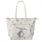 Wrendale Designs Hare Illustrated Everyday Bag