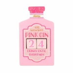 Sass & Belle Pink Gin Christmas Countdown Block