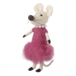 Heaven Sends Standing Lady Mouse Decoration