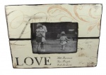 Heaven Sends All Because Two People Fell In Love Vintage Photo Frame