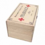 Heaven Sends Vintage Style Wooden Pharmacie Box