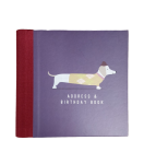The Artfile Sausage Dog Address & Birthday Book