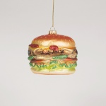 Sass and Belle Big Fat Burger Bauble