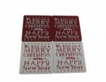 We Wish You A Merry Christmas Festive Drinks Coasters