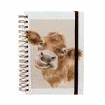 Wrendale Designs Mooo Spiral Bound Notebook