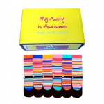 Awesome Aunty Gift Set - Assorted Oddsocks for Ladies