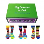 Cool Grandad Gift Set - Assorted Oddsocks for Men