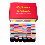 Awesome Teacher Gift Set - Assorted Oddsocks for Ladies