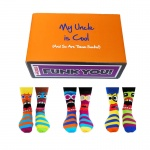 Cool Uncle Gift Set - Assorted Oddsocks for Men