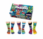 United Oddsocks - Childrens Novelty Mashers Socks - Size 12-6
