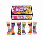 United Oddsocks Polka Face Design - Ladies Novelty Socks