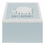 Petit Cheri Baby Boys Keepsake Box With Compartments