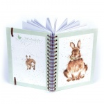 Wrendale Designs Hare Illustrated Spiral Bound Notebook