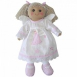 Powell Craft Childrens Fabric Rag Doll - Night Dress Design