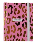 Really Good Leopard Print Password Book