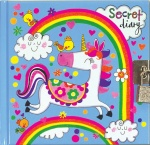 Rachel Ellen Girls Unicorn Design Lockable Secret Diary