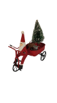 Shoeless Joe Santa with Watering Can Christmas Decoration