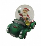 Gisela Graham Christmas Decoration - Car Snowglobe