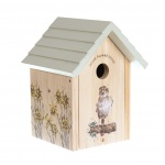 Wrendale Designs Wooden Sparrow Birdhouse