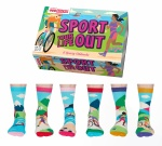 United Oddsocks Sport Your Life Out Sporty Socks