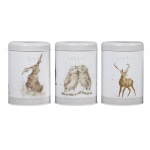 Wrendale Designs Grey Tea, Coffee & Sugar Canisters
