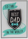 CGB Giftware Father's Day Best Dad Hanging Plaque Card