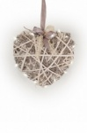Tobs Led Pre-lit Vine and Willow Heart Home Decoration