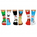 United Oddsocks Santa's Squad Christmas Socks